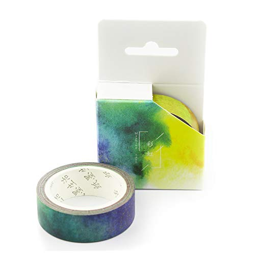 ?Sticky Upgrade?Washi Tape and Ink Tape Sky Series Pocket Album Diary DIY Stickers (0.59in