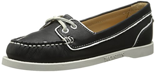 Women's Oxford Twoeye Leather Sebago Black Docksides wZpFqvvA