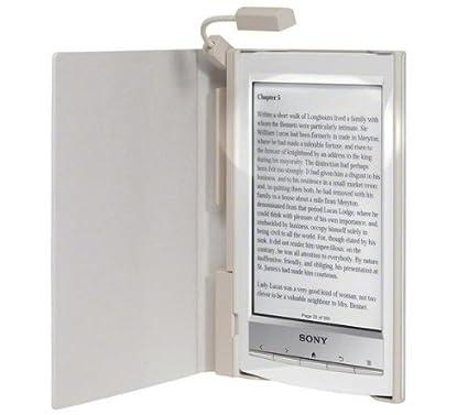 Sony Original diseño con luz para lector PRS-T1 color blanco ...