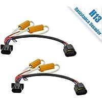 TZ Autoparts H13 LED Headlight bulb 6 Ohm Resistance...