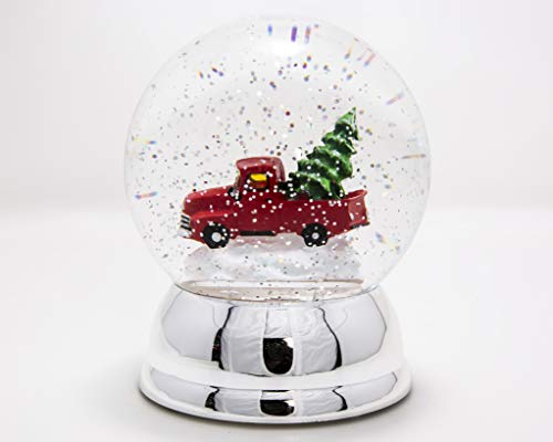 "ReLive 6"" Red Truck Snow Globe"