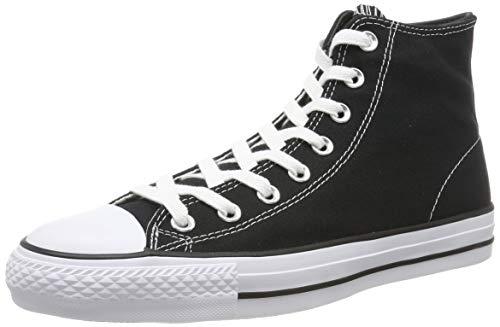 - Converse Unisex Chuck Taylor All Star Pro Hi Black/Black/White Basketball Shoe 10 Men US / 12 Women US