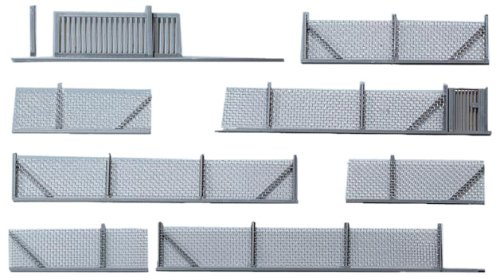 Faller 272420 Metal Industrial Fencing N Scale Scenery and Accessories Building (Industrial Buildings)