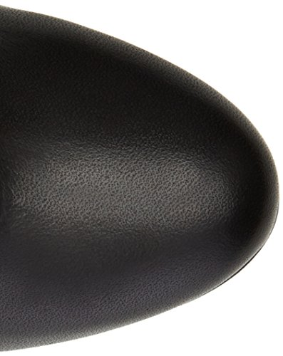 Buffalo LondonES 30293 ANILINA Soft - Stivaletti a Gamba Lunga Mod. Classics, Imbottitura Leggera Donna Nero (Nero (Preto 01))