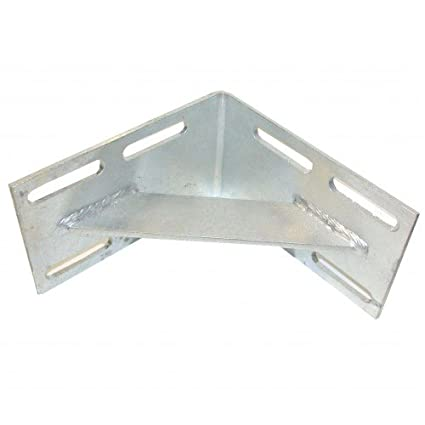 Amazon com: Dock Hardware Galvanized Inside Corner DH in: Sports