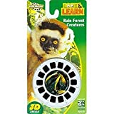 Jungle Animals of the Rain Forest - ViewMaster 3 Reel Set