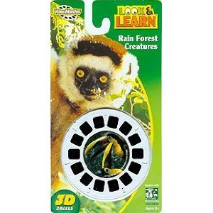 Jungle Animals of the Rain Forest - ViewMaster 3 Reel Set by View Master (Image #1)