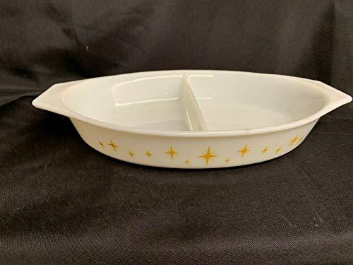 Pyrex Constellation 1 1/2 QT Divided Casserole Dish