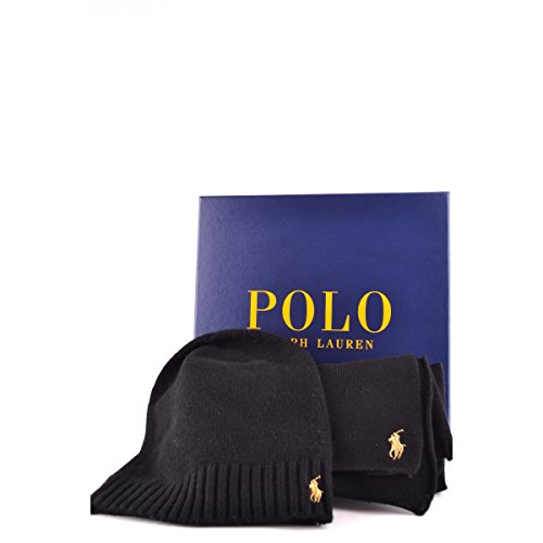 0dfb5dae1e7 RALPH LAUREN - Coffret écharpe bonnet Ralph Lauren noir pour femme - Noir