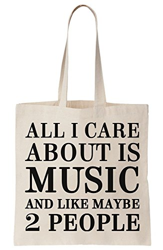 Tote 2 Music All Is Maybe People And I Bag Care Like About Canvas xOww8Pg4Zq