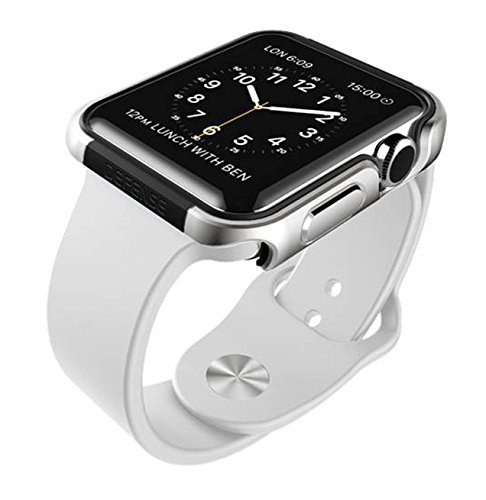 42mm Apple Watch Case, X-Doria Defense Edge Premium Aluminum & TPU Bumper Frame – Compatible with Apple Watch Series 1, Series 2 and Nike+