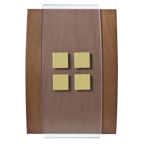 Honeywell RCW3506N1009/N Decor Wired Door Chime - Natural Honeywell