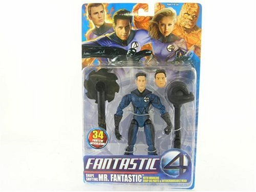 Toybiz Fantastic Four The Movie Mr Fantastic Action Figure