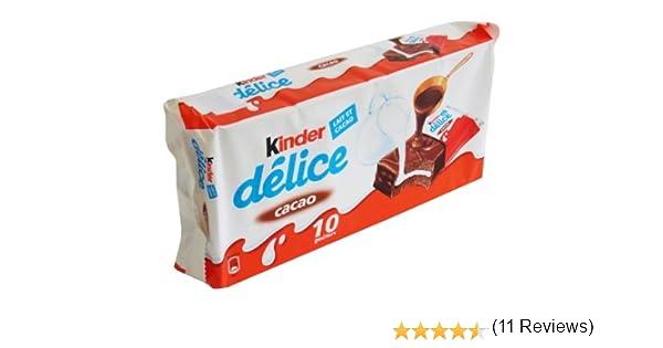Ferrero Kinder Delice Cacao 42g (paquete de 10): Amazon.es ...