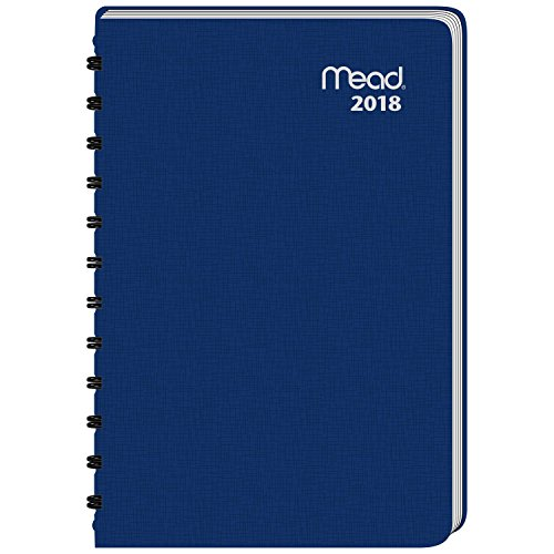 Monthly Classic Appointment Book (Mead Daily Appointment Book / Planner, January 2018 - December 2018, 4-7/8