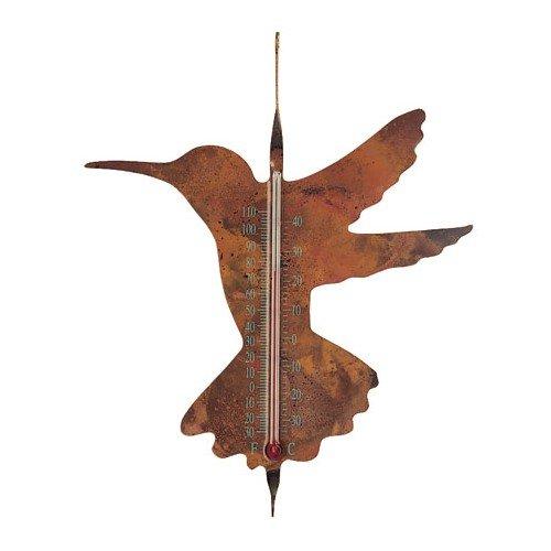 Ancient Graffiti Solid Copper Hummingbird Thermometer (Ancient Graffiti Thermometer)
