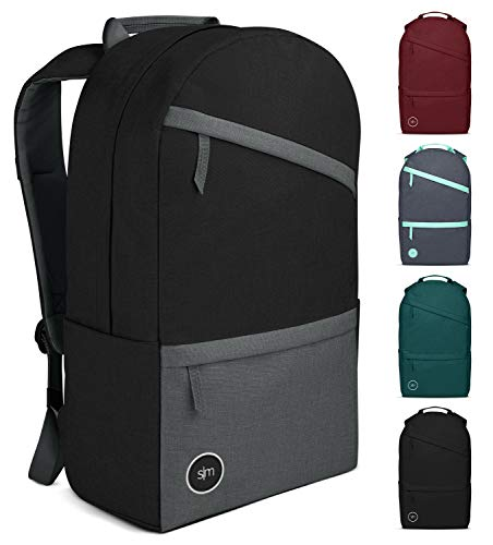 Simple Modern Legacy Backpack with Laptop Compartment Sleeve - 25L Travel Bag for Men & Women College Work School - Shadow (Color Blocked)