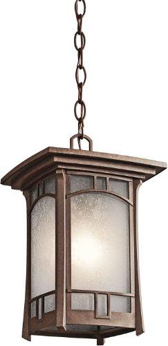 Kichler 49452AGZ One Light Outdoor Pendant (Kichler Lighting Outdoor Pendant)