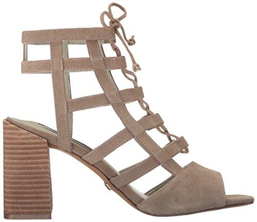 kensie Women's Shawna Heeled Sandal Taupe O2uJjV