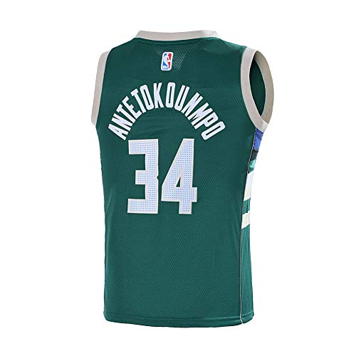 9ab84520f Outerstuff Youth 8-20 Milwaukee Bucks  34 Giannis Antetokounmpo Jersey ( Youth X-