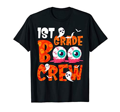 Halloween Reading Comprehension 1st Grade - 1st Grade Boo Crew Funny Halloween