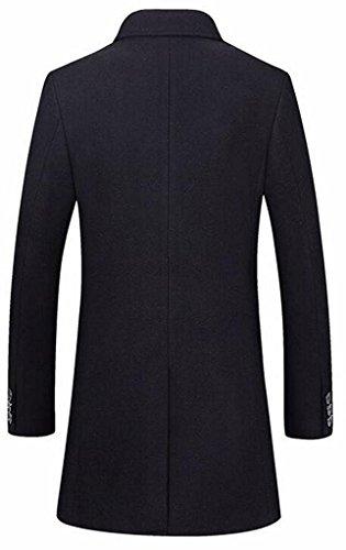 Women Slim Hooded Thicken Cotton Padded Coat Hoodies Black - 7