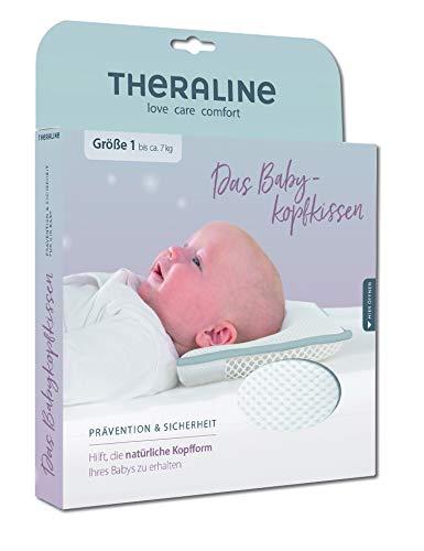 9672ced245 THERALINE Das Babykopfkissen | Prävention & Sicherheit | Größe 1 (bis ca. 7  kg): Amazon.de: Baby