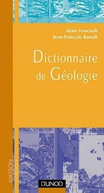 Dictionnaire de géologie par Foucault