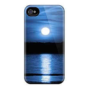 New SCiRYsA1153sGNWY Blue Sun Skin Case Cover Shatterproof Case For Iphone 4/4s