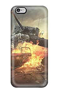 [OCSFJSD241mDGIs]premium Phone Case For Iphone 6 Plus/ World Of Tanks Online Game Tpu Case Cover