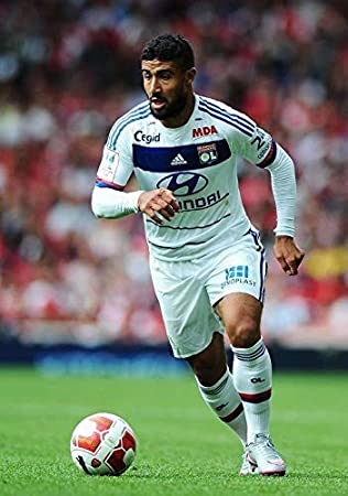 A3 G/én/érique Nabil Fekir Lyon Football Poster 11092 A3-A4-A5