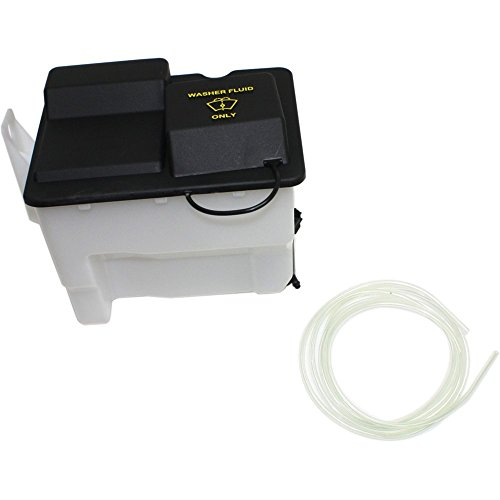 Windshield Washer Tank compatible with F-150 04-08 Assy W/Pump And Cap New Body Style