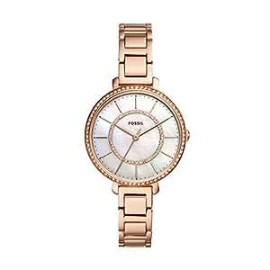 Fossil Women's ES4452 Analog Quartz Rose Gold Watch