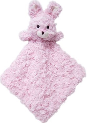 Baby Girl Animal Snuggle Buddy Security Blanket Rossett Rabbit by Snuggle Buddy