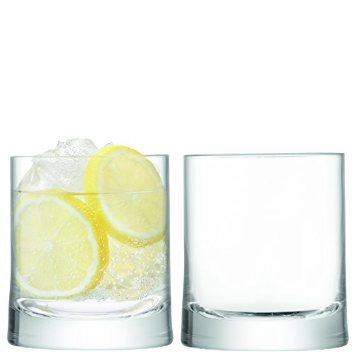 LSA International G1387-11-200 Gin DOF Tumbler (Set of 2), Clear
