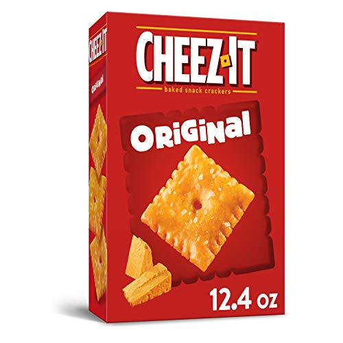 Cheez-It Baked Snack Cheese Crackers, Original, 12.4 oz. Box
