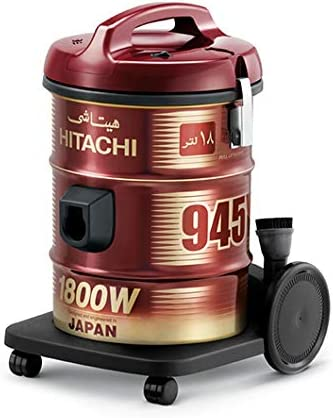 Hitachi CV-945Y Steam Vacuum Cleaner, Wine Red