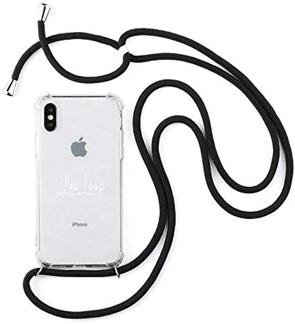 Hanging Mobile Case for iPhone 11 Rope White and Gray