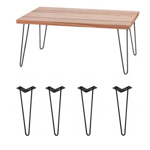Hairpin Legs 16 Inch by Loft Zen. Creates A Modern Looking Table and Great DIY project With These 16 Inch Hair Pin Legs. Ships For Free & (4 pack)