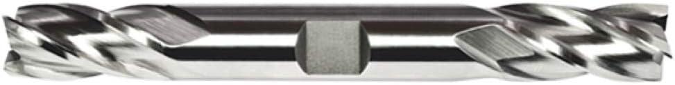 Alfa Tools DE151419 7//8X7//8 HS Multi-Flute Double End Mill