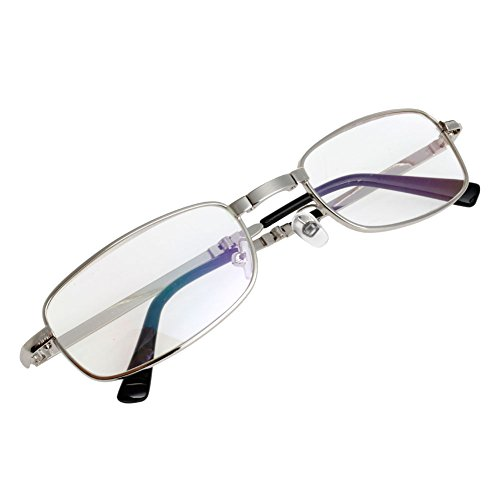Magicub Metal Snap Folding Reading Glasses with Case +1.0 +1.5 +2.0 +2.5 +3.0 +3.5 +4.0 - Glasses Reading Mens Fashionable