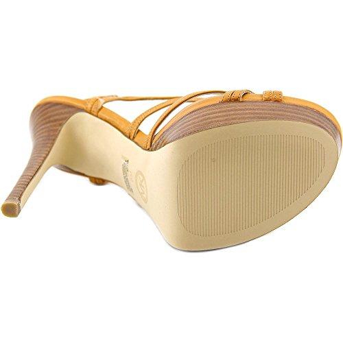Michael Michael Kors Cicely Platform Pelle Sandalo con la Zeppa