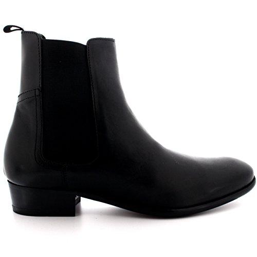 H Door Hudson Mens Watts Chelsea Boots Zwart Zwart