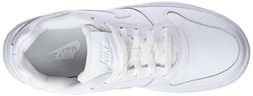 Basketballschuhe Damen NIKE White Low Weiß Ebernon 001 White txAAw1B