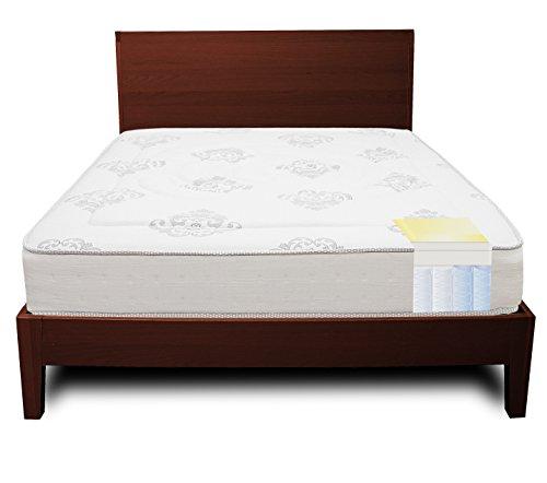 Classic Brands Decker Hybrid Memory Foam and Innerspring 10.5-Inch Mattress, Queen