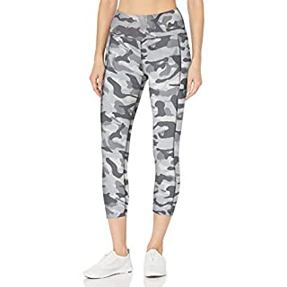 Bally Total Fitness High Rise Pocket Mid-Calf Legging, Quiet Shade, Small
