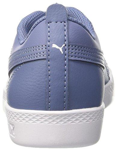 infinity Infinity Puma Smash V2 Wns L para Azul Mujer Zapatillas 8zn81axW