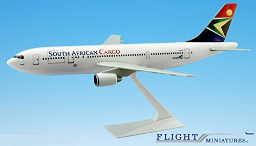 South African Cargo A300B2 Airplane Miniature Model Plastic Snap-Fit 1:200 Part# (200 South African Airlines)