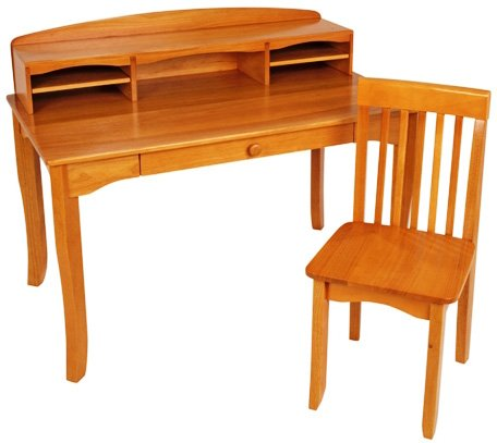 KidKraft Large Avalon Desk - Honey