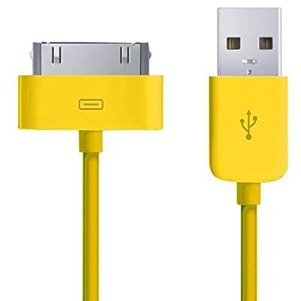Xtra-Funky Exclusivo Reemplazo de alta calidad cargador USB sincronización de datos cable de transferencia para Apple iPhone 3G 3Gs 4 4S / iPod Touch ...